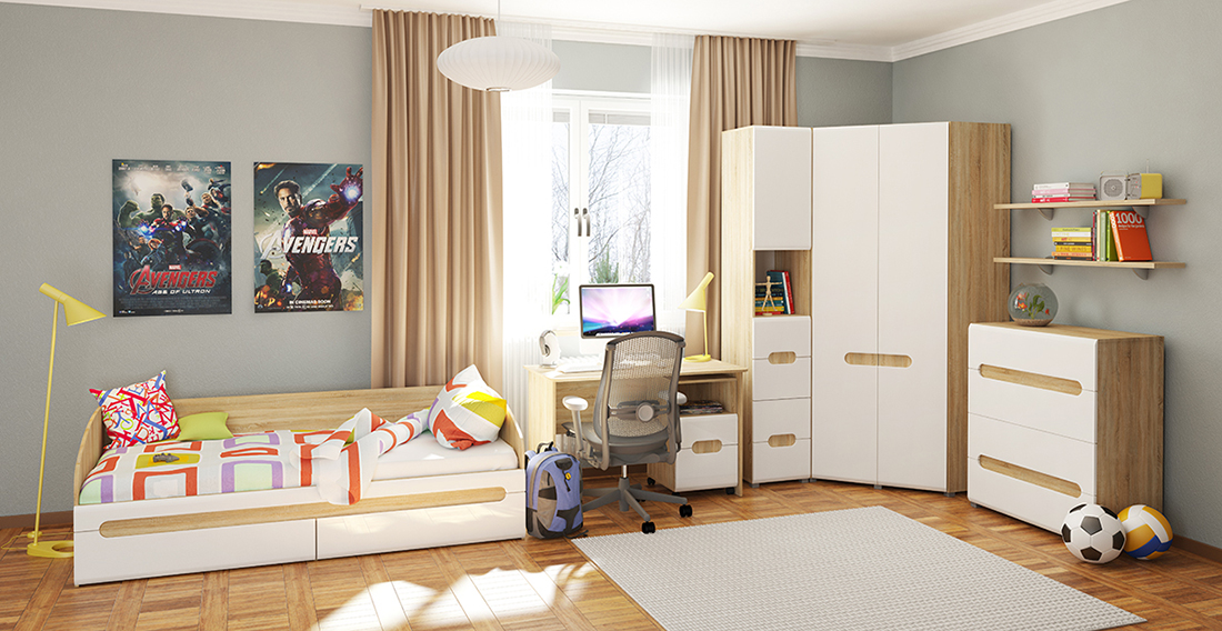children bedroom furniture set luqano