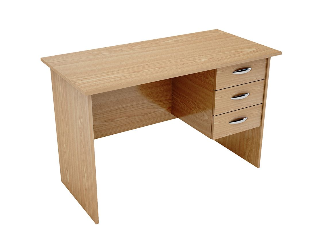 Writing desk with 3 drawer