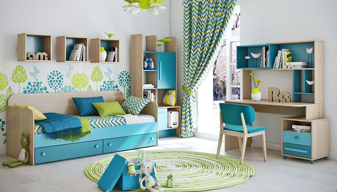 children bedroom furnitue set melon