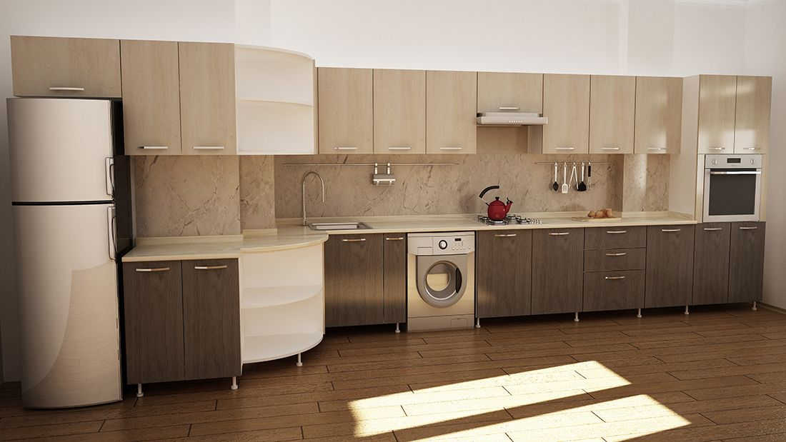 kitchen furniture grey