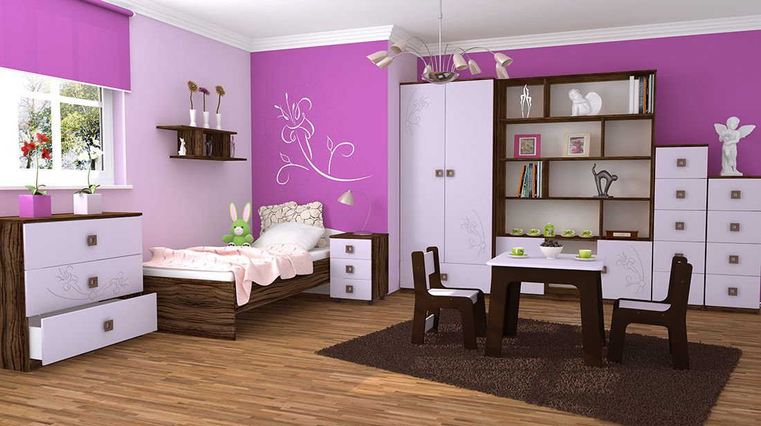 How must children's bedroom furniture be chosen?