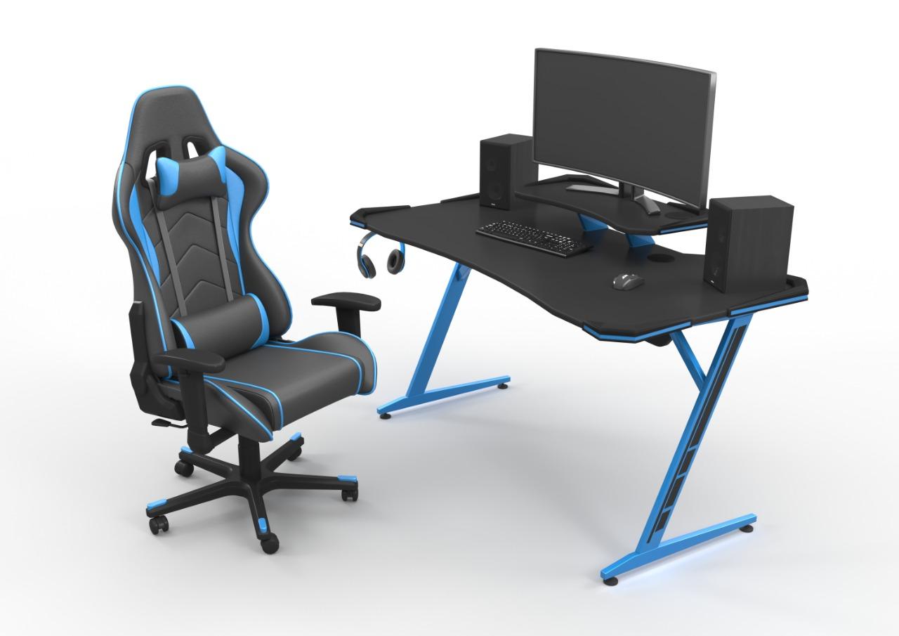 Game Desk Blue
