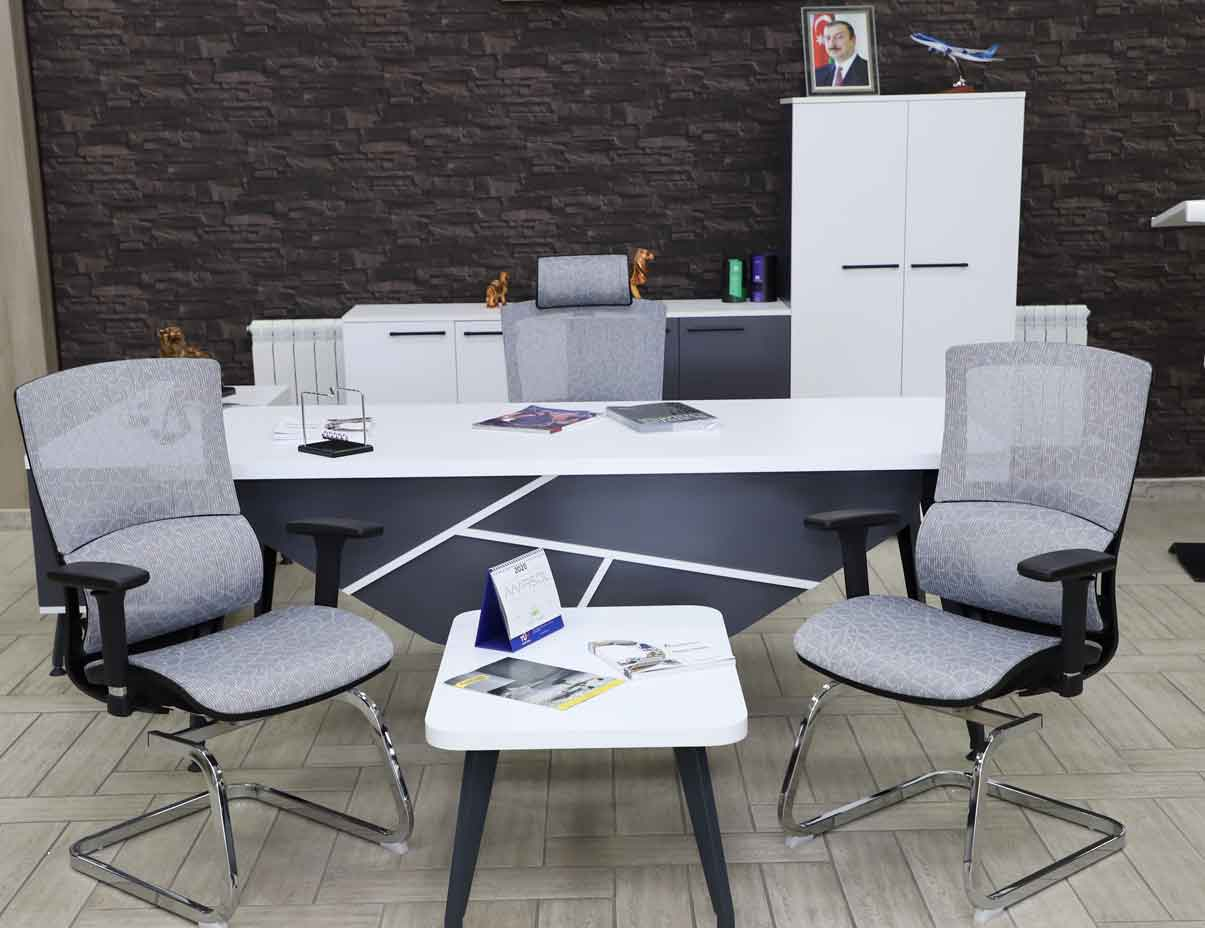 Furniture for director Grow (Oval edges)